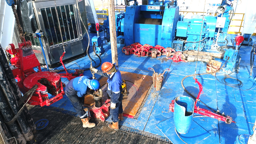 Drilling of an appraisal well was started at the Mustakillikning 25 yilligi production field